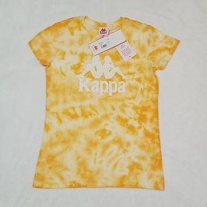 Wmns LARGE Slim Fit Kappa Tie Dye t-shirt